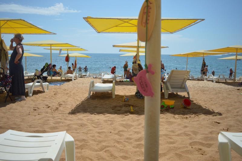 Пляж жемчужина в феодосии фото